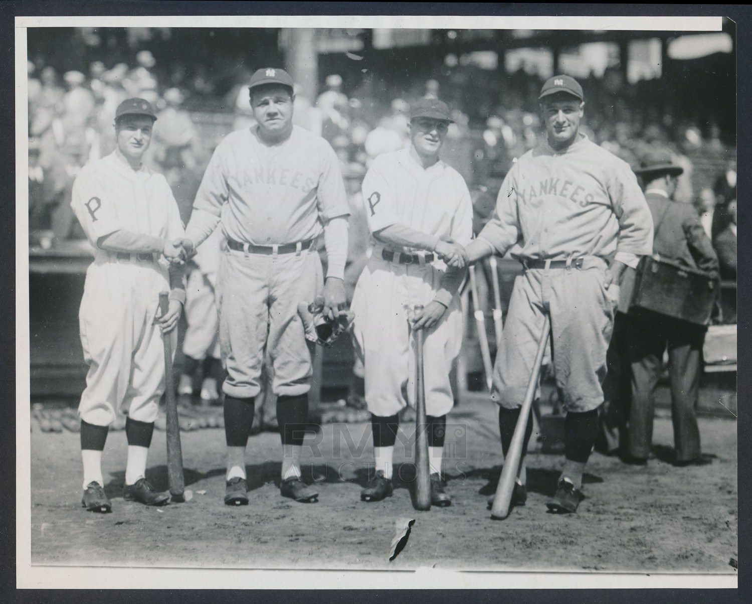 1927 Babe Ruth & Lou Gehrig