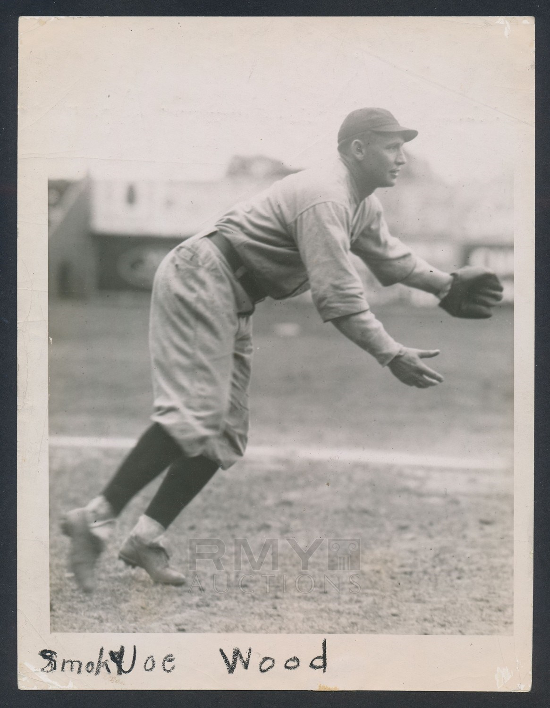 1921 Smoky Joe Wood His 1922 E120 American Caramel